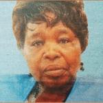 Harriet Nkatha Mbae Rimbere