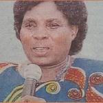 Pastor Margaret Lusimba