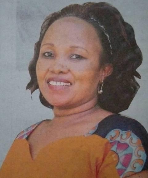 JANE WAMBUI NDUATI - Death and Funeral Annoucement in Kenya