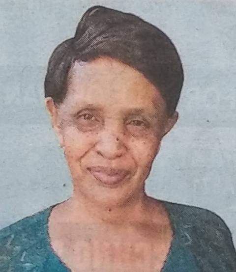 ANN WANJIRU GITHAE - Death and Funeral Annoucement in Kenya