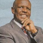 PRESBYTER DR. CLEMENT GICHUKI KAMBO
