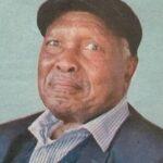 PATRIARCH MR. GEORGE GITHINJI WANJIE (PAPA G)