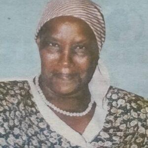 FLORENCE WAMBUI MWANGI