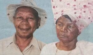 JOSEPH MAINA MURIMI & ALICE WAMBUI MAINA